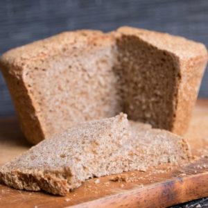 Цельнозерновой пшеничный хлеб без сахара с цикорием