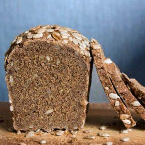Ржаной солодовый хлеб с семечками и цикорием