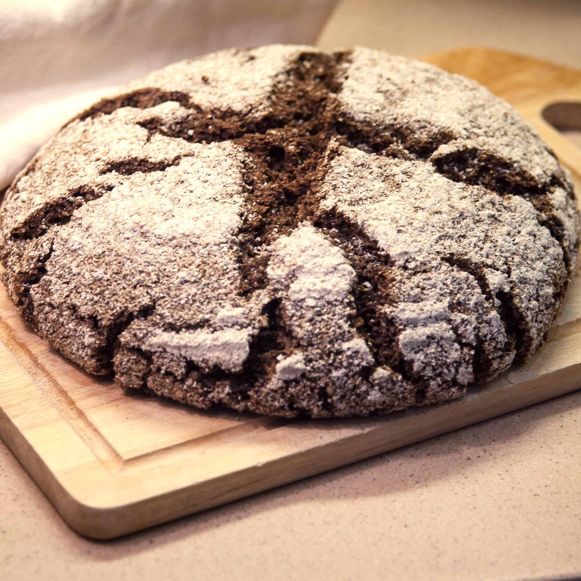 Ржаной солодовый хлеб с цикорием