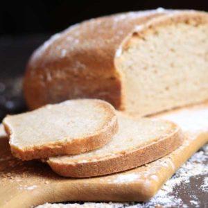 Пшеничный бездрожжевой хлеб с цикорием